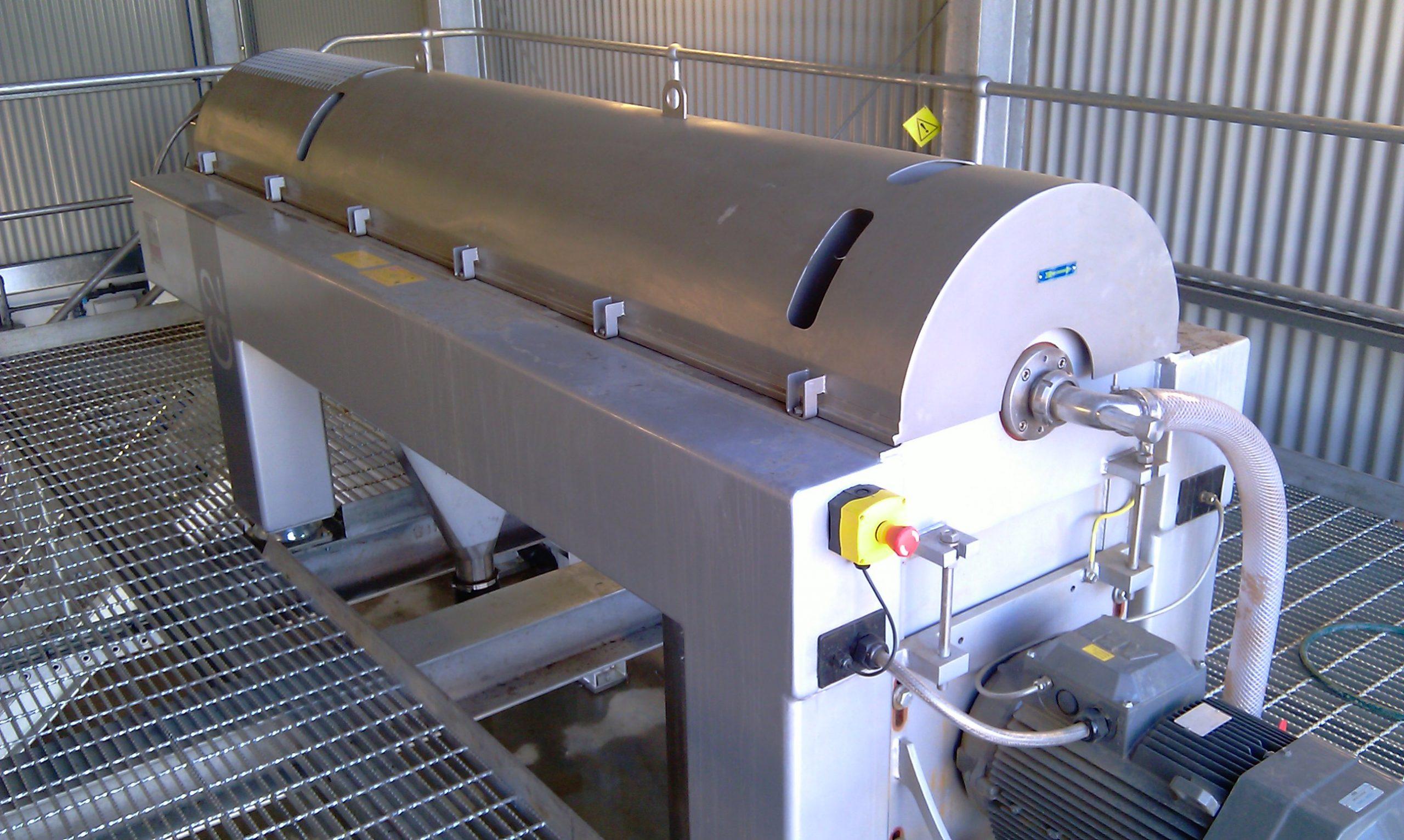 Woodglen WTP - Sludge Dewatering Centrifuge