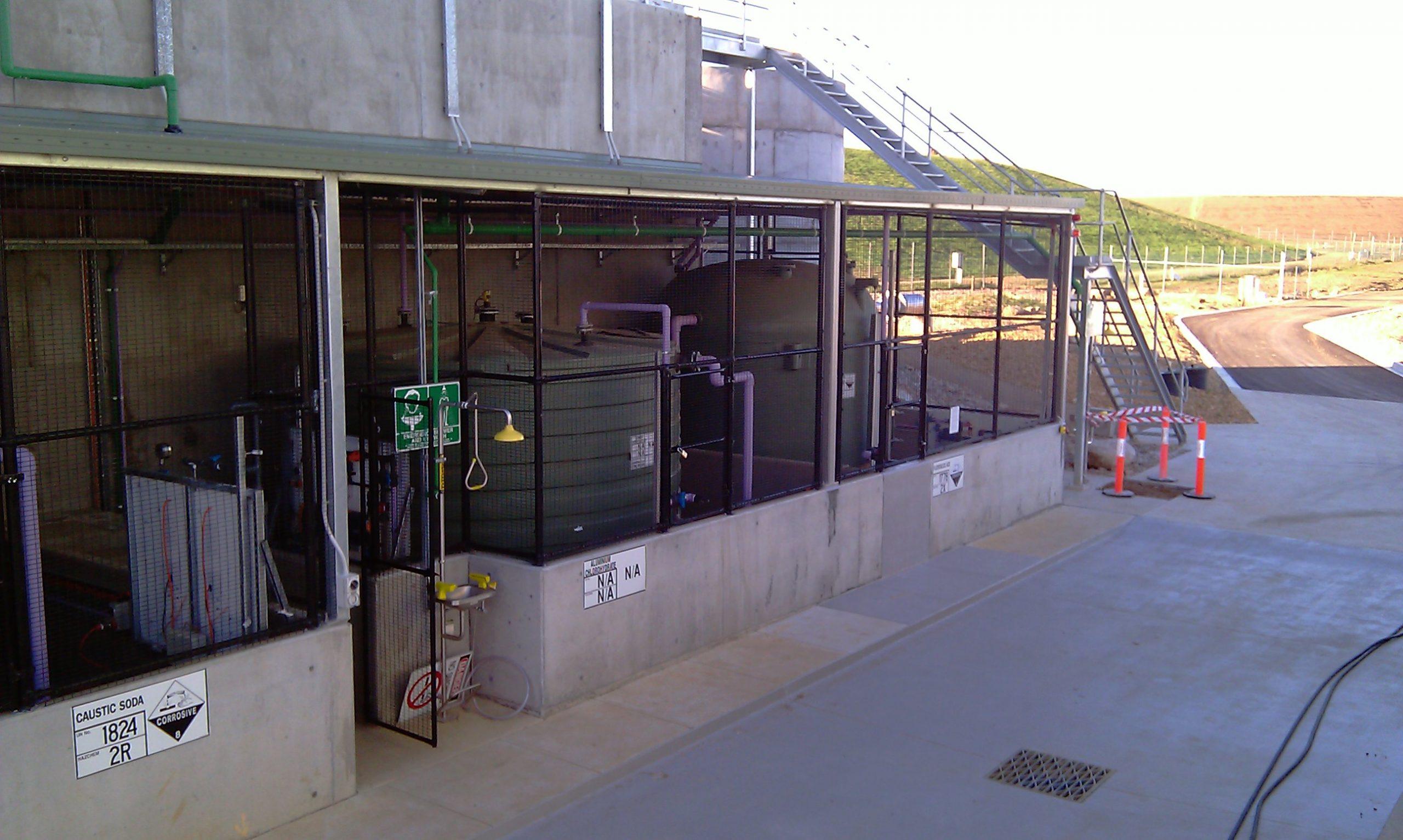Woodglen WTP - Chemical Dosing Facilities