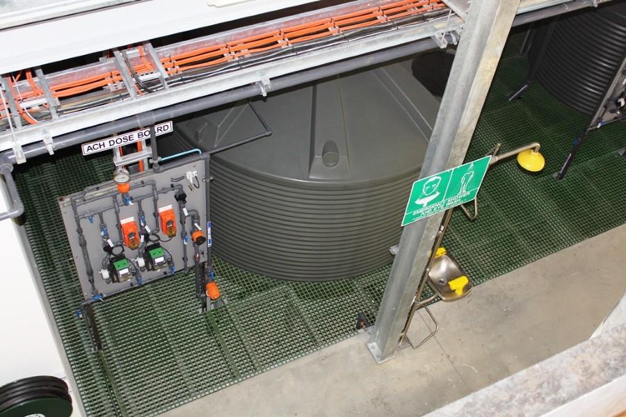 Gunning WTP - ACH Dosing and Storage System