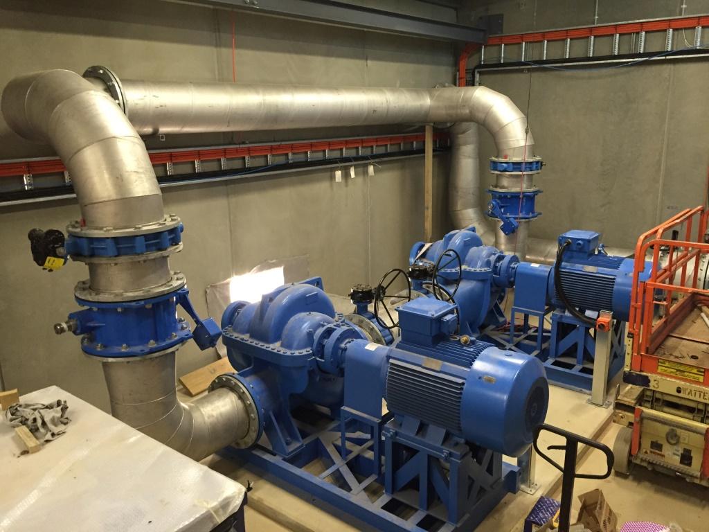 Numurkah WTP - Backwash Pumps