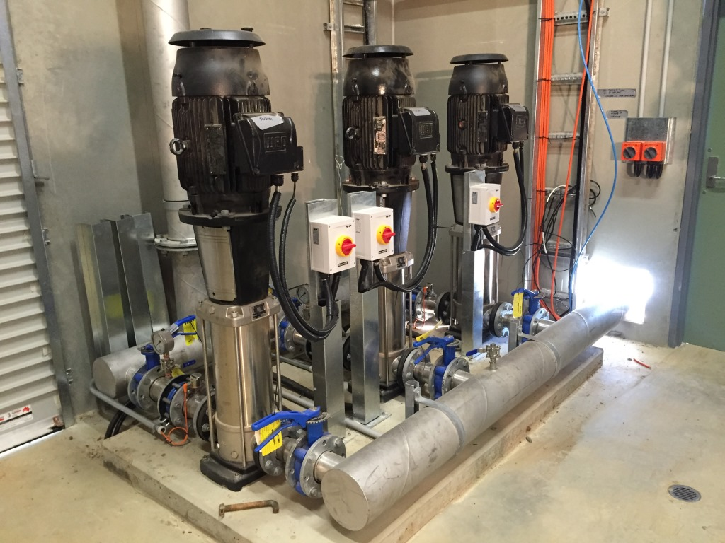 Numurkah WTP - Recycled Water Pumps