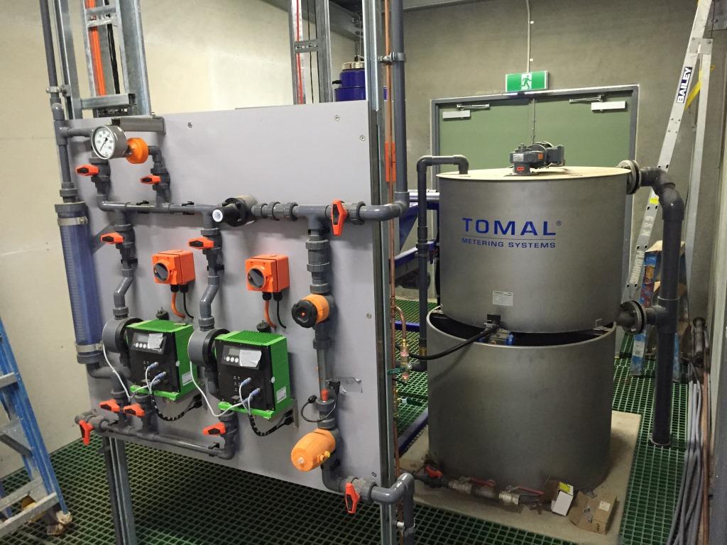 Numurkah WTP - Polymer Dosing System