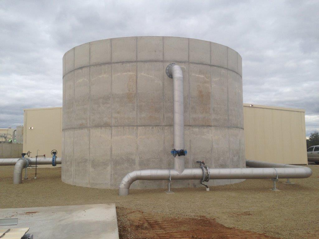 Numurkah WTP - Clearwater Storage Tank