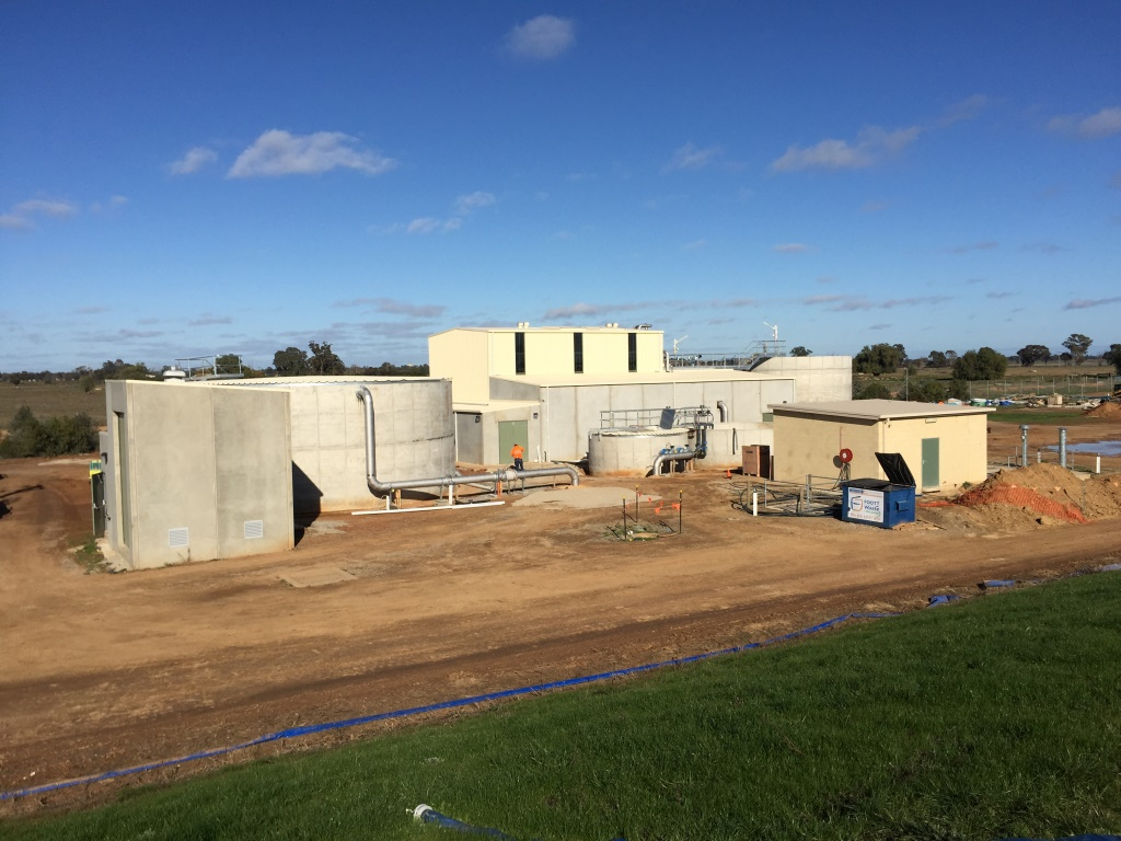 Numurkah WTP - Under Construction