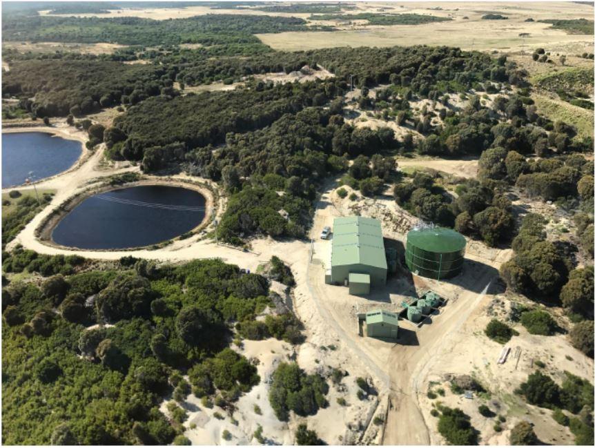 Whitemark WTP - Aerial Photograph