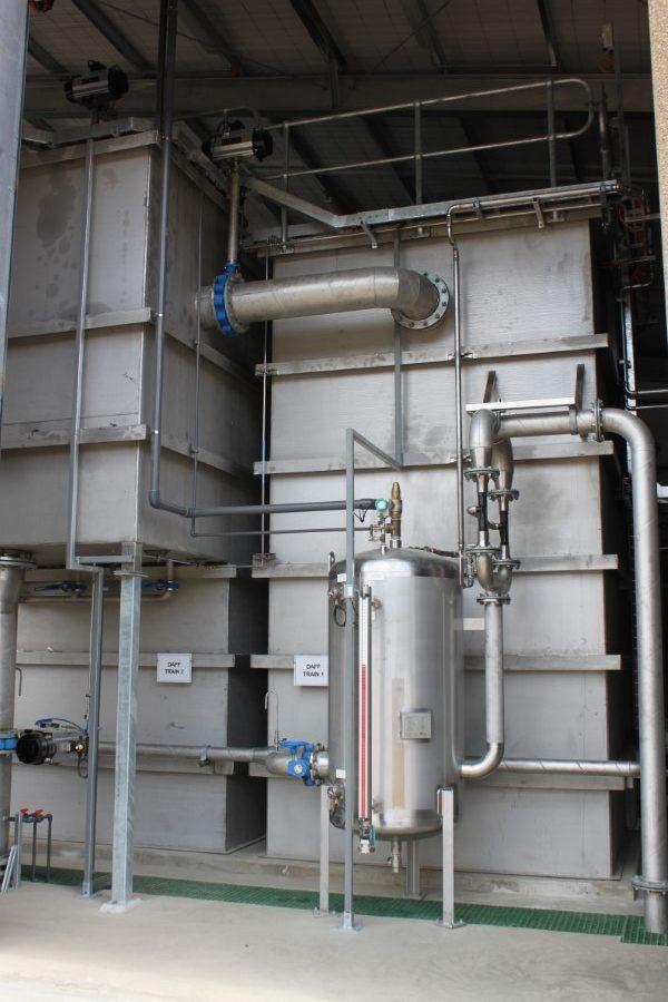 Freeburgh WTP - DAF Saturation Vessel