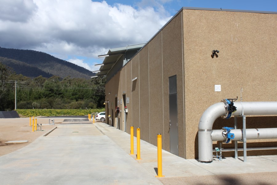Freeburgh WTP - Main Building and Towns Supply Outlet