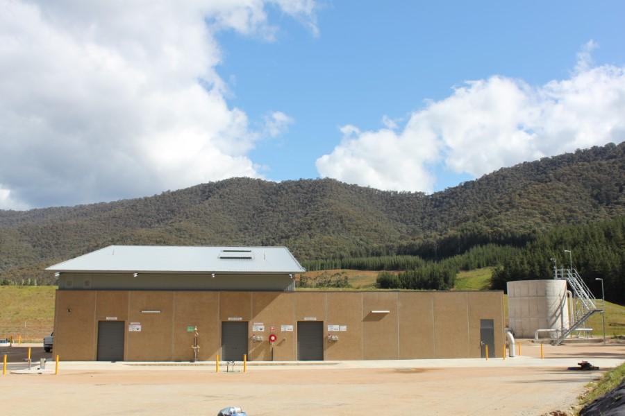 Freeburgh WTP - Main Building