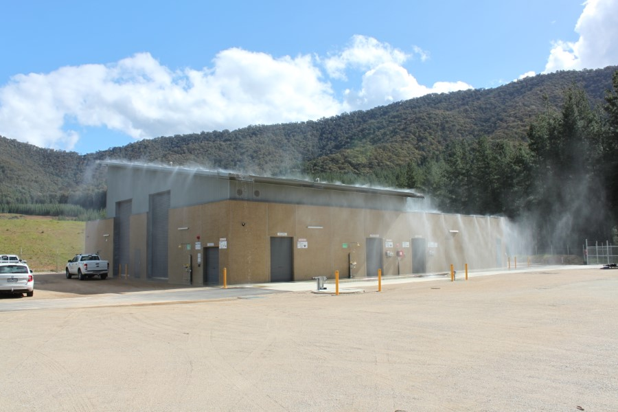 Freeburgh WTP Busfire Protection Deluge System