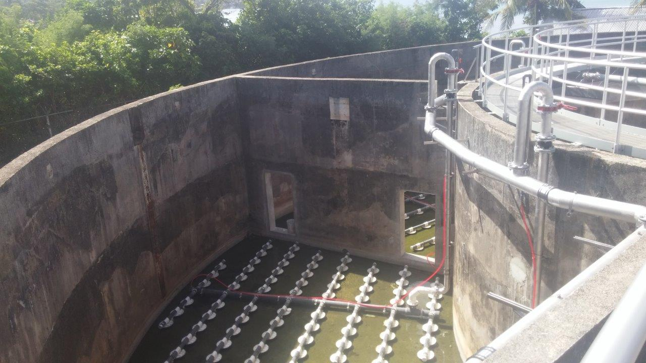 Weno WWTP Upgrade - Air Diffusion System nearing readiness for testing