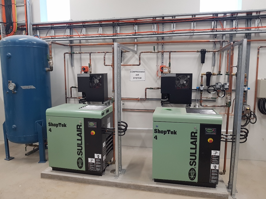 Crookwell WTP - Compressed Air System