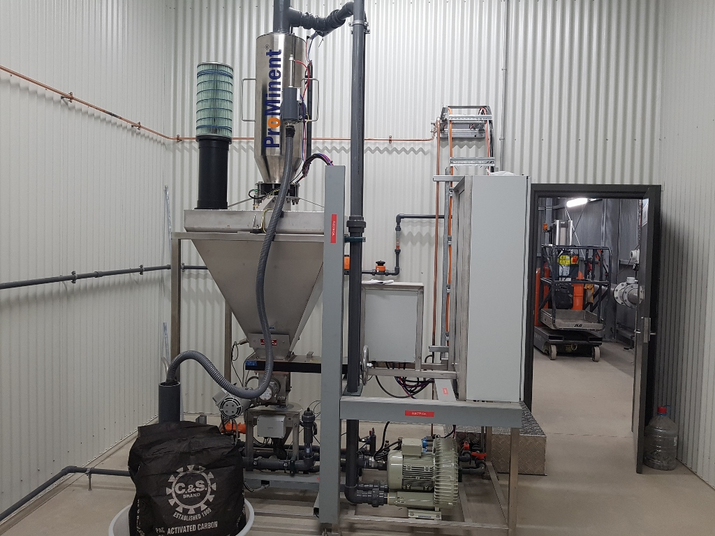 Crookwell WTP - PAC Transfer System