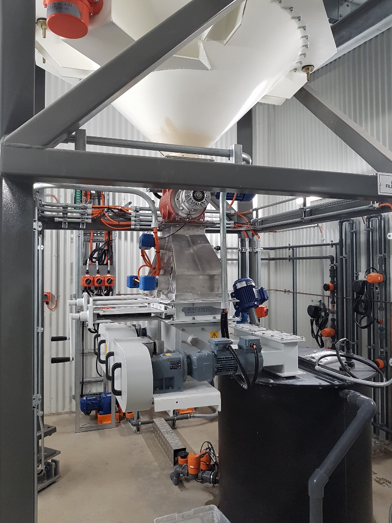 Crookwell WTP - Soda Ash Transfer and Batching System