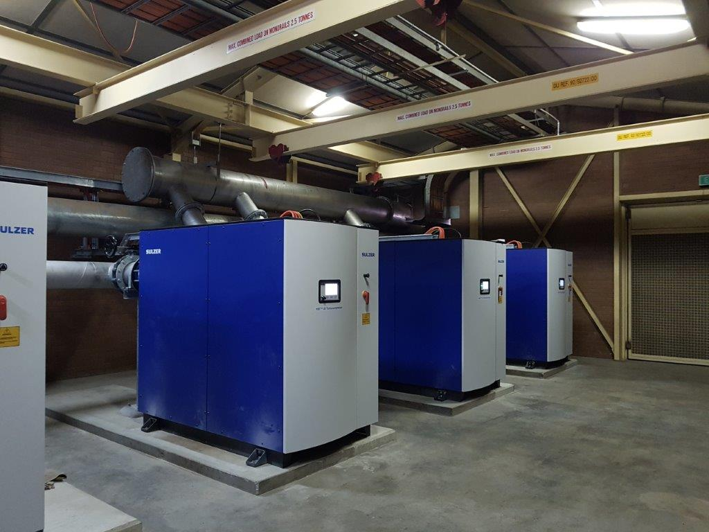 West Wodonga WWTP Aeration Upgrade - Sulzer Blowers