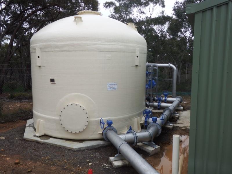 Laanecoorie WTP Chlorine Contact Tank
