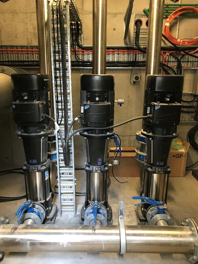 Cobram WTP Upgrade - DAF Plant Dispersion Pumps