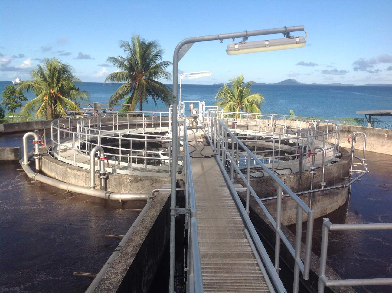 Weno WWTP Upgrade - Activated Sludge and Clarifier Basin Upgrade Complete