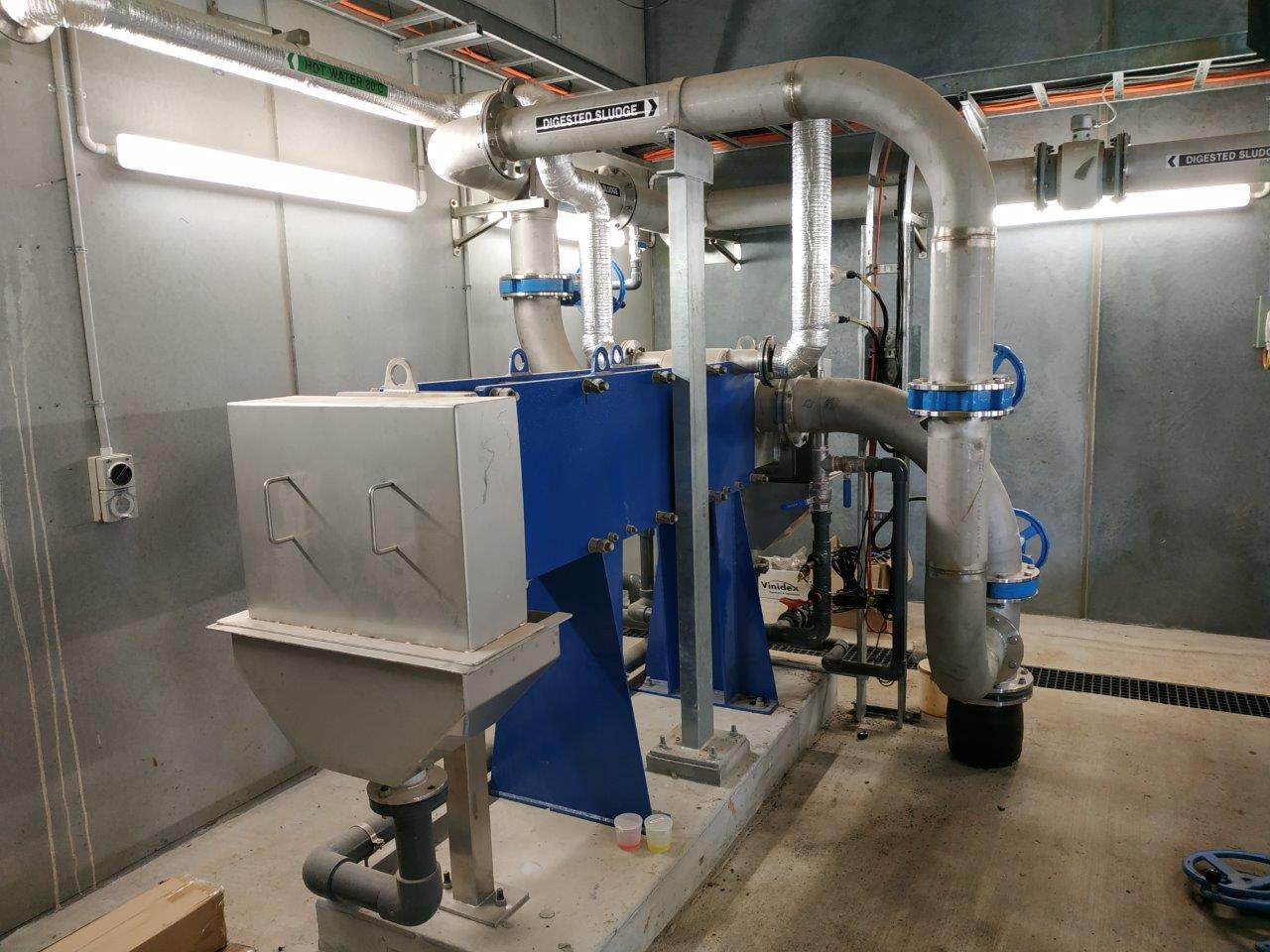 Melton RWP - Sludge Heat Exchangers