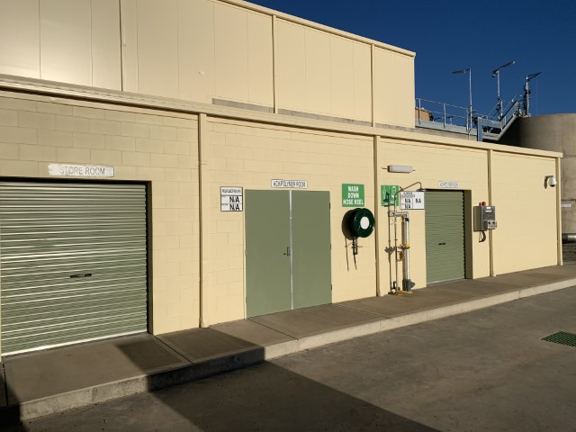 Cobar - Plant Building Chemical Room Entry