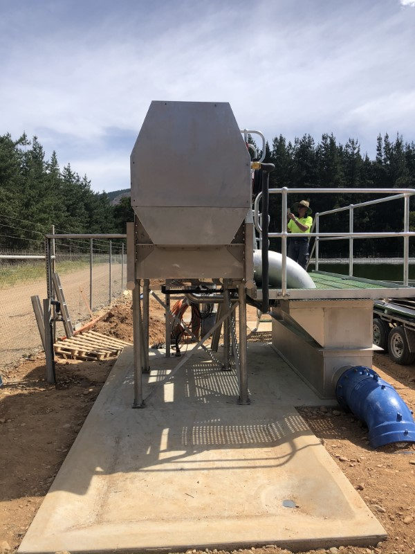 Bright WWTP Inlet Works Upgrade