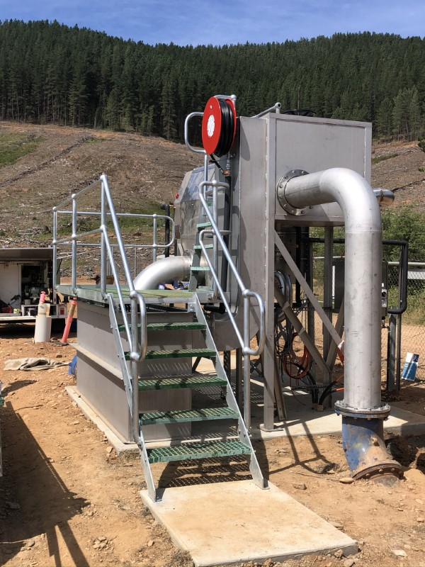 Bright WWTP Inlet Works Upgrade - Under Construction