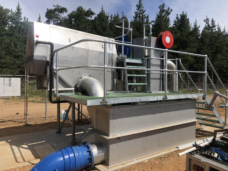 Bright WWTP Inlet Works Upgrade - Awaiting Commissioning