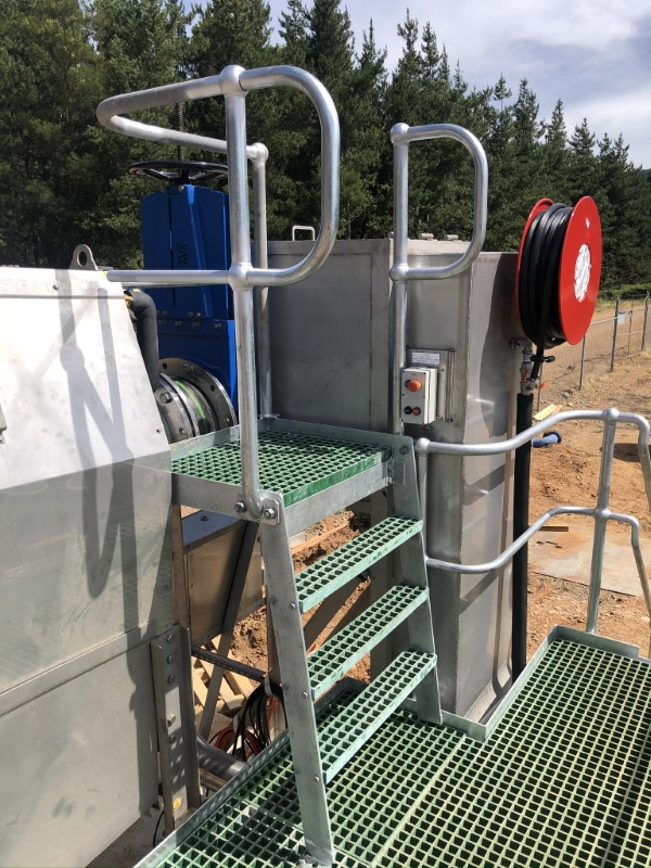 Bright WWTP Inlet Works Upgrade - Access Detail
