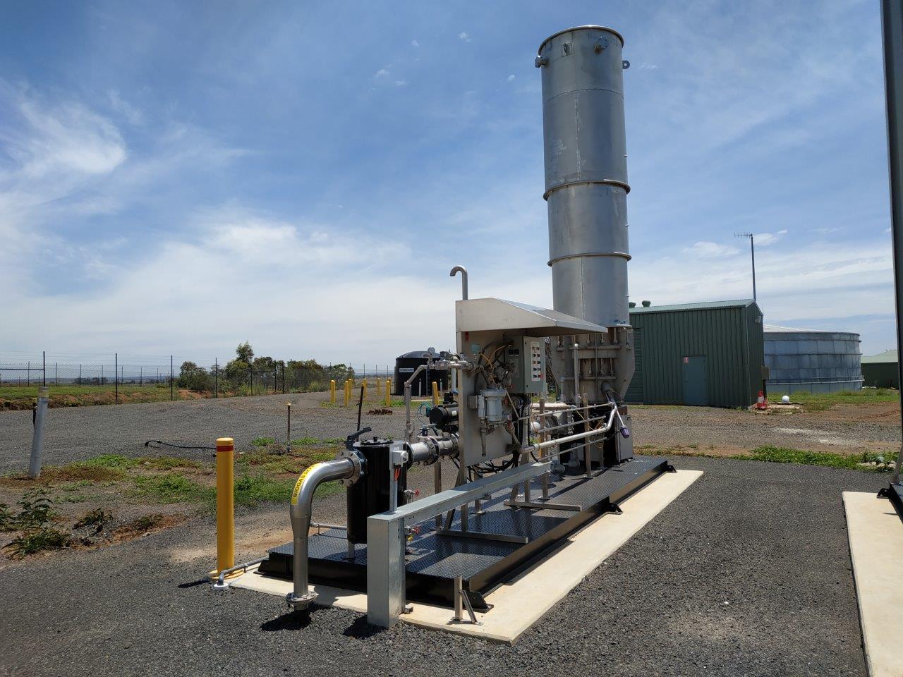 Melton RWP - Biogas Flare