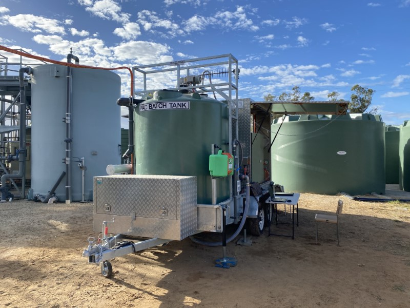 Mobile PAC Plant - Preparing for Deployment