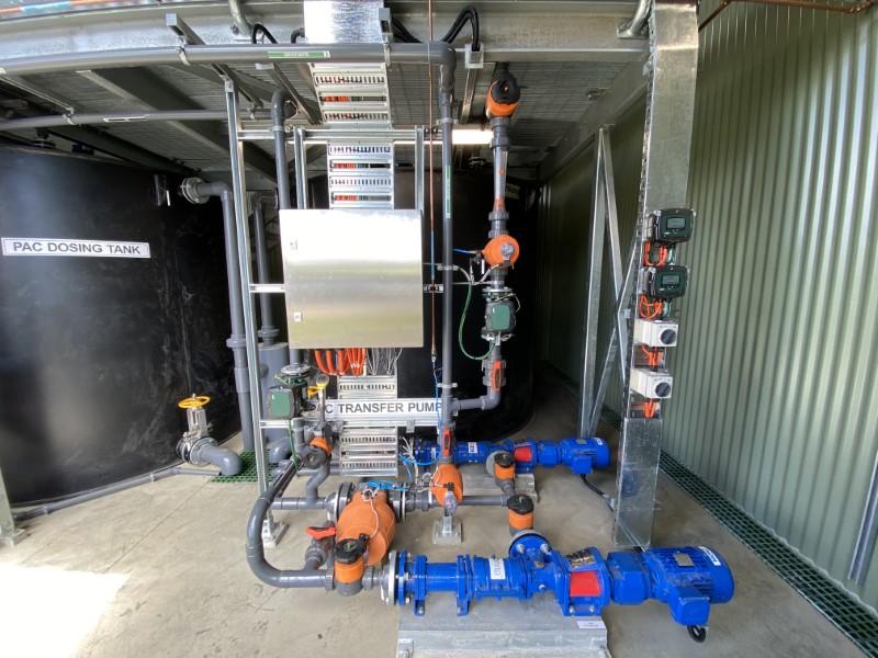 Lance Creek WTP PAC Dosing - Transfer Pumps and Dosing Tank