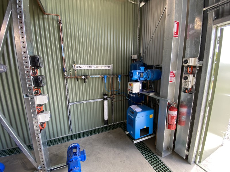 Lance Creek WTP PAC Dosing - Compressed Air System