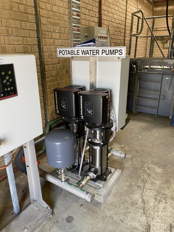 Lance Creek WTP PAC Dosing - Potable Water Pumps