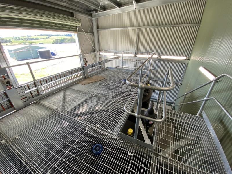 Lance Creek WTP PAC Dosing - Upper Mezzanine