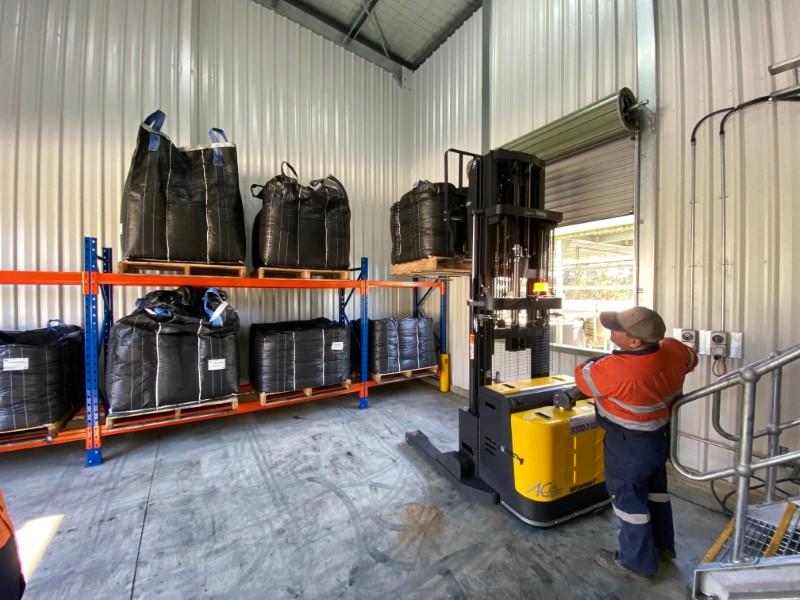 Heathcote WTP Upgrade - PAC Dosing Building Interior