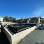 Heathcote WTP Upgrade - GEOBAG Laydown Area