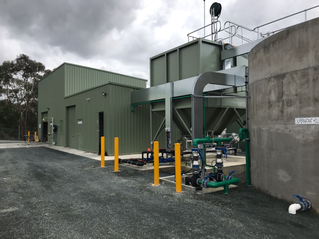 Heathcote WTP Upgrade - New PAC Dosing Building and Thickener
