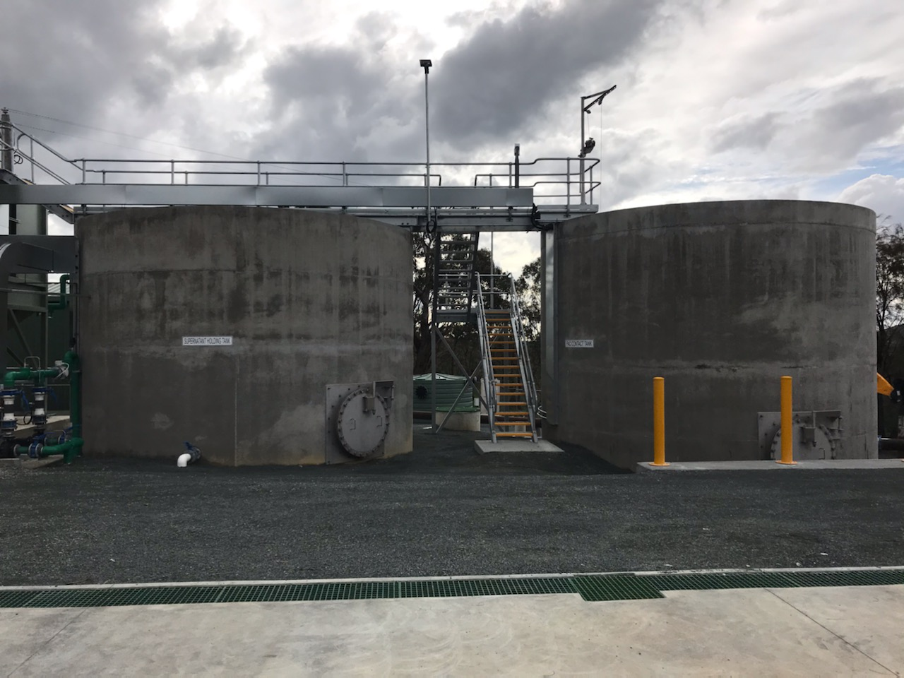 Heathcote WTP Upgrade - Tank Top Access Gantry
